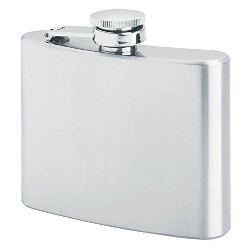 Primo Hip Liquor Flasks, Stainless Steel