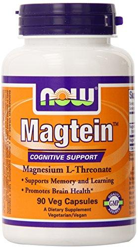 NOW Magtein Magnesium L-Threonate Support memory and Brain H…