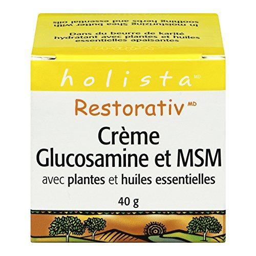 Restorativ Glucosamine MSM Cream, 40 grams by Holista