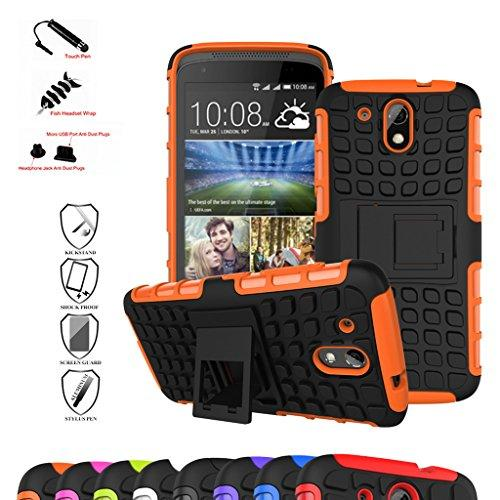 HTC Desire 526G+ Case (With 4 in 1 Free Gift Packaged)