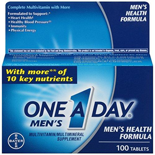 One-A-Day Men s Health Formula Dietary Supplement, 100-Count