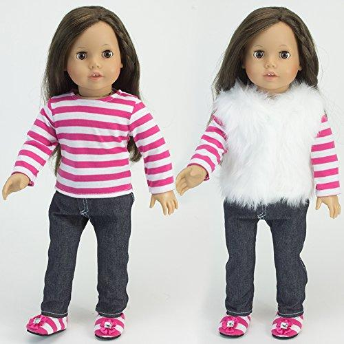Doll Dress Included in 18 Inch American Doll Outfit