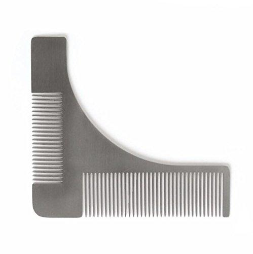 SaiDeng Stainless steel Beard Styling & Shaping Template…
