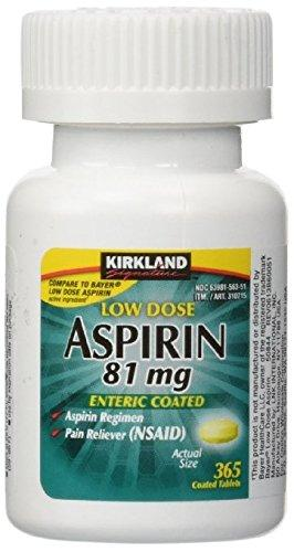 Kirkland Signature Low Dose Aspirin - 365 Count