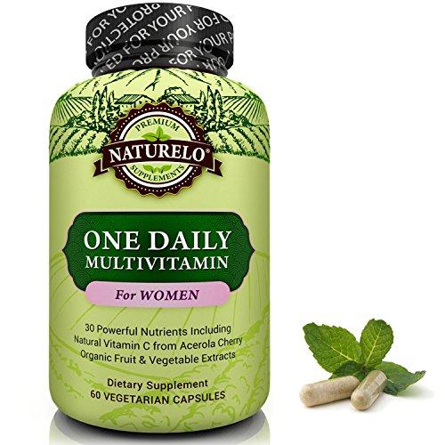 NATURELO One Daily Multivitamin for Women Pack of 60 Capsule…