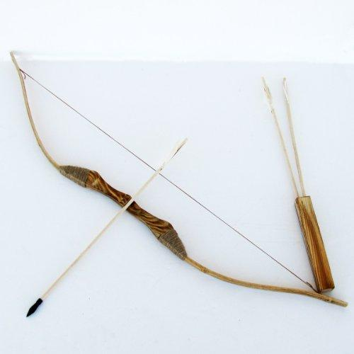Bow and Arrows with Quiver and Set of 3 Arrows