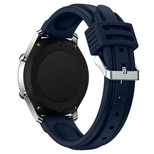 Silicone Strap Band For Samsung Gear S3 Classic