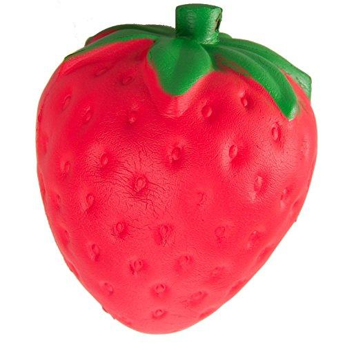 Squishy Slow Rising 1 pcs Jumbo Kawaii Strawberry Cream Scented Toy - …