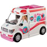 Barbie Care Clinic Vehicle Playset For Kids