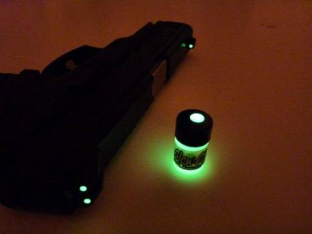 GLOW-ON, Gun Sights Paint