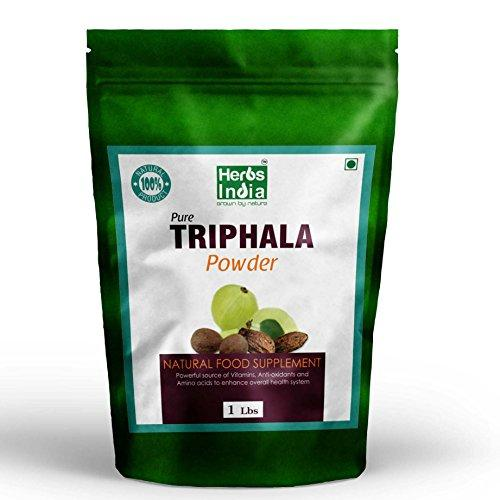 Herbs India Triphala Powder 100% Pure and Natural.