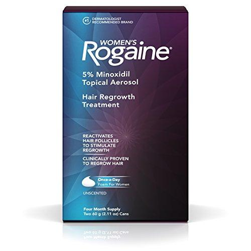 Women Rogaine Minoxidil Foam 5%  for Hair Thinning and Loss …