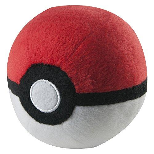 Pokemon Poke Ball Plush, Poke Ball By Tomy