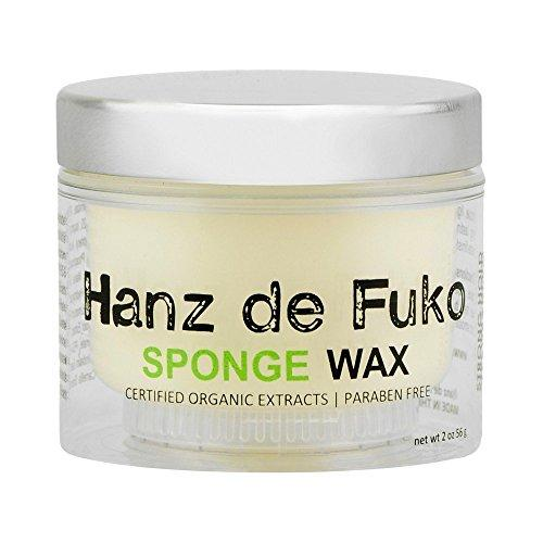 Hanz de Fuko Sponge Wax Certified Organic Extracts