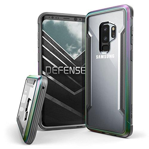 Samsung Galaxy S9 Plus Case With Aluminum Frame Shockproof Transparent…