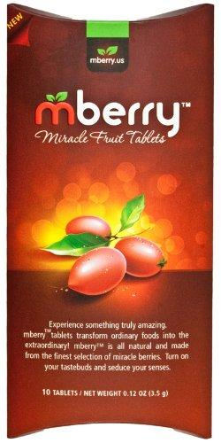 mberry Miracle Fruit Tablets 10-Count