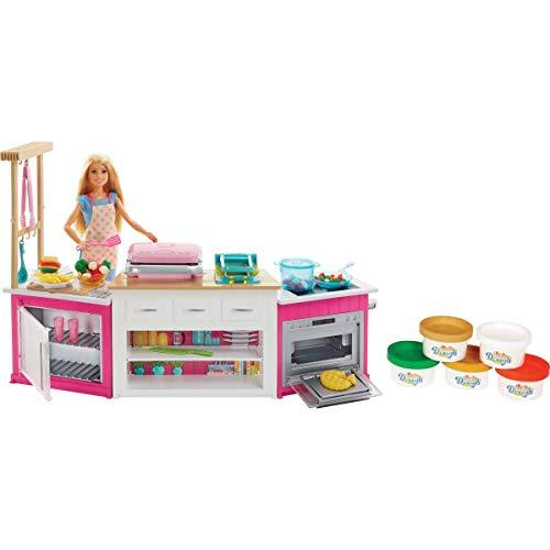Barbie Kitchen Play Set for Girls
