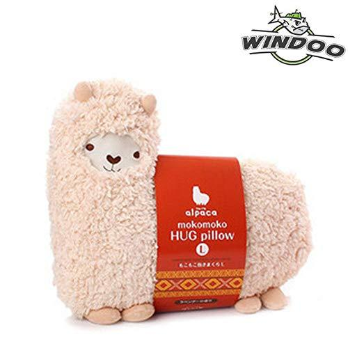 Llama Alpaca Hug Pillow Cushion Doll - White color