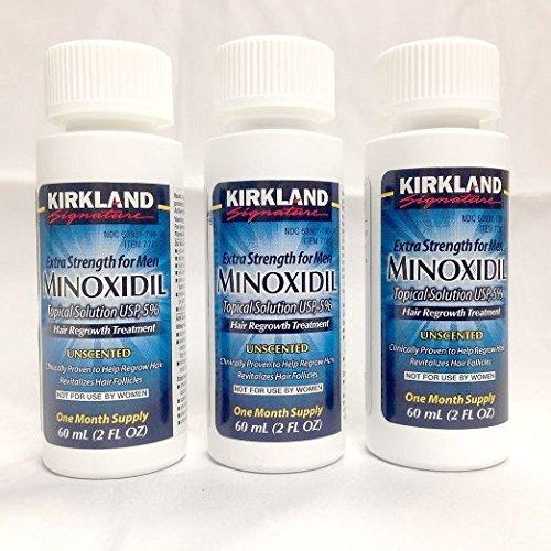 Kirkland Signature 5% Minoxidil Hair Regrowth for Men,