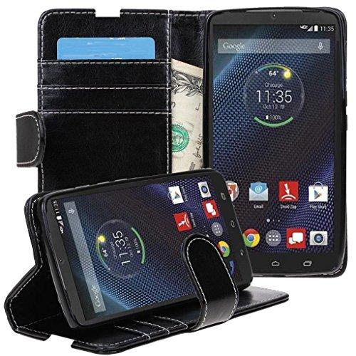 Flip Wallet Leather Case for Motorola DROID Turbo (Only Fit …