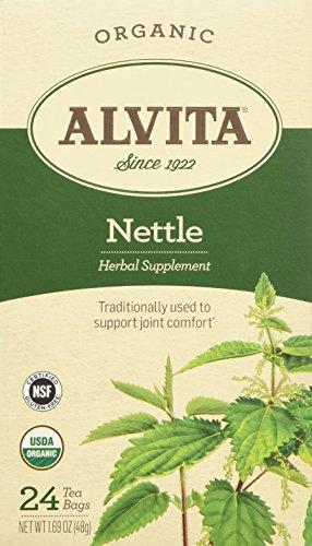 Alvita Organic Herbal Nettle Leaf Tea Bags