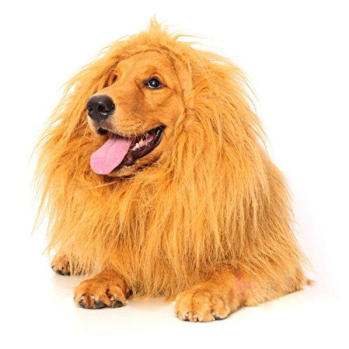 Lion Mane for Dog, Dogloveit Dog Costume with Gift [Lion Tai…