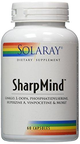 Solaray Sharpmind Capsules