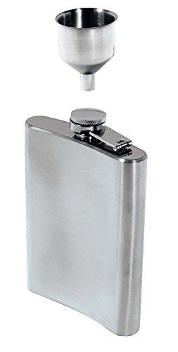 Stainless Steel Hip Flask & Funnel Set