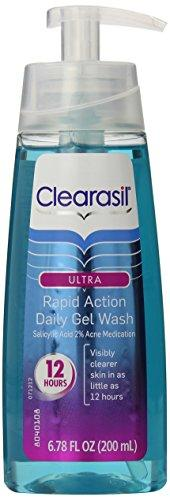 Clearasil Acne Treatment Face Wash Gel