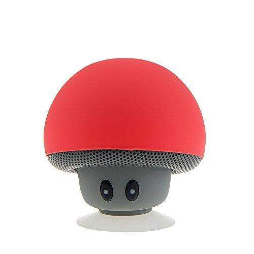 Mushroom Portable Bluetooth Wireless Mini Speaker Music Play…