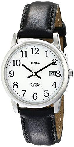 Timex Men T2H281 Leather Strap Watch