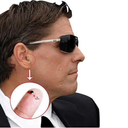 Mini Spy Invisible Earpiece Cheat Covert Earpiece for Mobile…