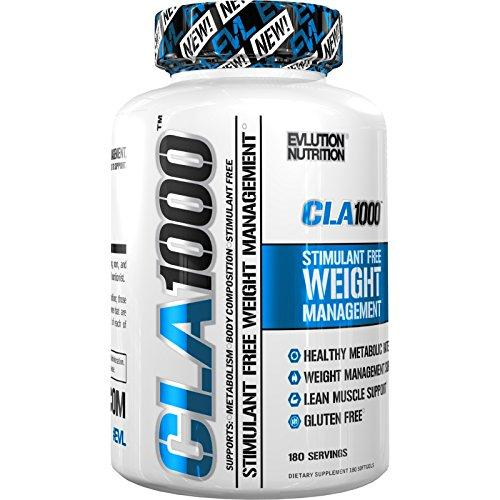 Evlution Nutrition CLA 1000 Weight Loss Supplement - 180 Sof…