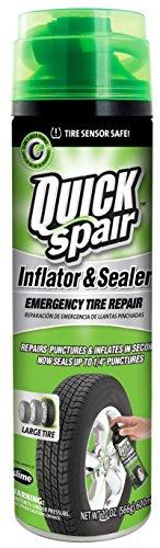 Quick Spair Tire Inflator with Eco-friendly Formula
