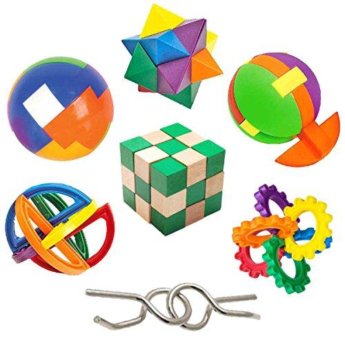 GamieUSA Kids Educational Brain Teasers Toys for 5 Year Olds…