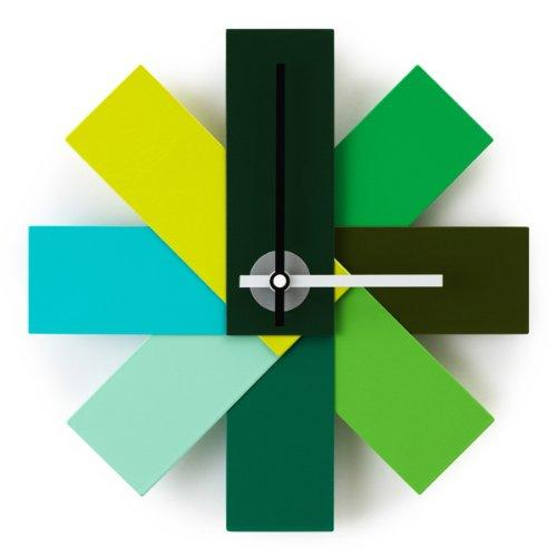 Watch Me Wall Clock, Green 11 Inch