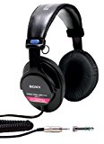 Sony MDRV6 Studio Monitor Headphones with CCAW Voice Coil