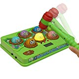 CatchStar Wack A Mole Mouse Fast Reflexes Whack A Mole Game Language Learning Durable Musical Whac Wackamole Educational Toys for Kids CatchStar