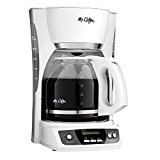Mr. Coffee CGX20-NP 12-Cup Programmable Coffeemaker, White