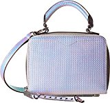 Rebecca Minkoff Women's Hologram Box Cross Body Bag, Hologram, One Size