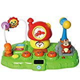 MeeYum Baby Toddler Whack A Mole Game Toy Clock Reflexes Colors Educational Toys for Kids MeeYum