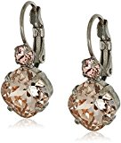 Sorrelli French Wire Satin Blush Drop Earrings