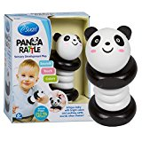 Wooden Panda Rattle by Svan - Solid Wood Clutching and Shaker Toy
