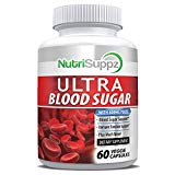 Natural Ultra Blood Sugar Supplement - Helps Support Healthy Blood Sugar & Glucose Levels - Immune System, Heart, Pancreas, Diabetic, Glucose, Insulin with Bitter Melon, Licorice Root, Cayenne Pepper NutriSuppz