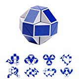 Magic Snake Twist Puzzle,Kasien Cool Twisty Cube Toy Collection Brain Teaser Kids Game Gift (Random) Kasien
