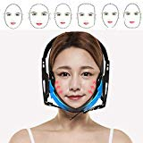 Face Lifting Cheek Belt Band Strap V-Line Slimming Chin Slim Mask Face Shape (Black) Coerni