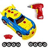Take Apart Toy Racing Car Kit For Kids - 30 Pieces With Engine Sounds & Toy Tools For Kids Build Your Own Model Race Car Kit Construction Set Toysery