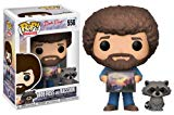 Funko POP! TV: Bob Ross - Bob Ross with Raccoon (Styles May Vary) Collectible Figure Funko