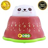 BEST LEARNING Whack & Learn Mole - Interactive Light-Up Baby Toddler Toys for Kids 6-36 Months Old Infants & Toddlers - Educational Alphabet, Colors, Numbers & Night Light & Music Game for Babies BEST LEARNING