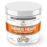 Genius Heart & Cardiovascular Health Supplement – Cholesterol Lowering Vein & Blood Pressure Support w/Grape Seed Extract, Vitamin K2 MK7 & CoQ10 – Antioxidant Energy for Men & Women,60 Veggie Pills The Genius Brand